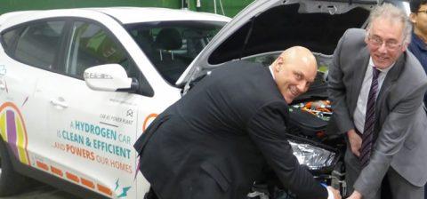 Waterstofauto Gaat Het Winnen Van Elektrische Auto Fluxenergie