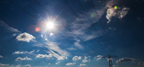 Zon en kabels, foto: Paul Tolenaar