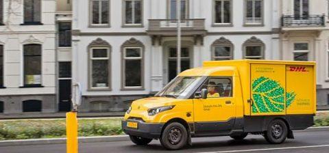 Bezorgen In Steden, foto: DHL (project elektrisch vervoer in steden)
