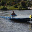Solar Boat Twente bij de Eneco Zonneboot Race. Bron: Solar Boat Twente