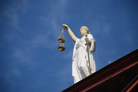 Vrouwe Justitia, CC 0. AJEL via Pixabay