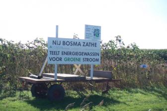Biofuel testfield. the friendly friend CC2.0 SA