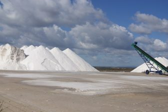 Sea salt industry Mallorca, via Pixabay, uploaded by GuenterRuopp CCO