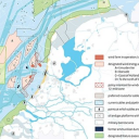 Fig. 2-19: designated areas for offshore wind energy in the Dutch EEZ (Noordzeeloket 2015, via SENSEI 2016)