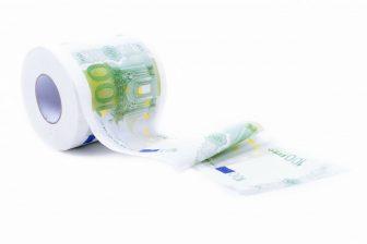 toiletpapier euro's