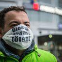 campagnebeeld diesel luchtvervuiling Duitsland , Copyright Maximilian Urschl DUH
