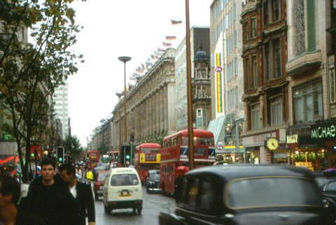 London Oxford Street in 1987, Roger Wollstadt CC2.0