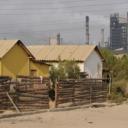 Kankoyo mijnwerkerswijk naast Mopani mijn, Zambia