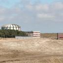 reactorgebouw van de hogefluxreactor (HFR) in Petten, uitsnede uit foto Energieonderzoek Centrum Nederland 2006, CC BY-SA 3.0