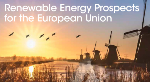 kaft Renewable Energy Perspectives for the European Union, IRENA 2018