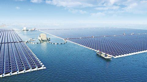 40MW Floating PV Power Plant (PRNewsfoto/SUNGROW Power Supply Co., Ltd