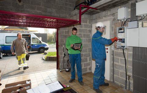 Uitrol van digitale en slimme meters in Vlaanderen (foto: Eandis)