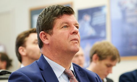 Vlaams minister Bart Tommelein. (foto Engie Cofely)