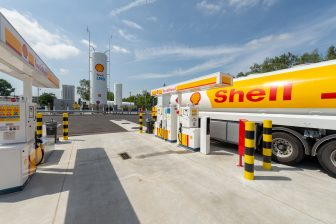 Shell LNG, Herstal, tankstation