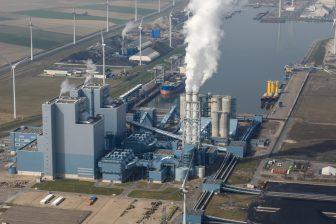Eemshavencentrale. (foto: Koos Bertjens/RWE)
