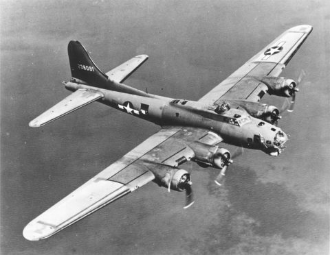 B-17_on_bomb_run (foto: Vlaams Instituut voor de Zee)