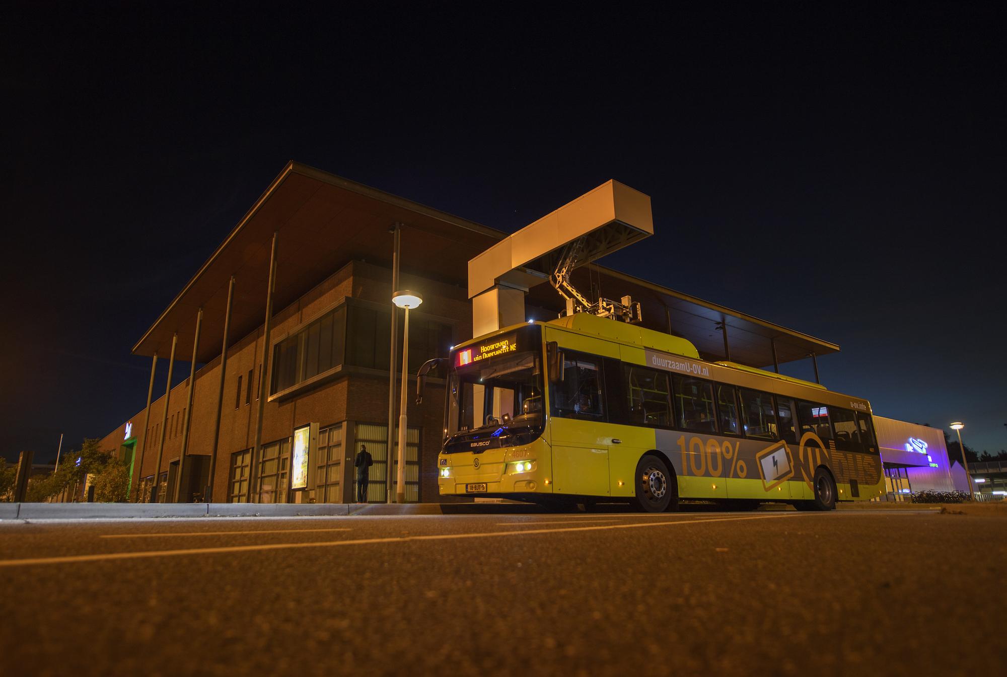 Doel Van Uitstootvrije Busvloot In Utrecht In 2030 Gaan We Halen