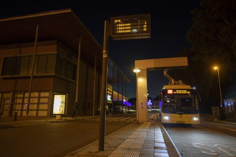 Bus opladen Utrecht U-OV Joulz 2