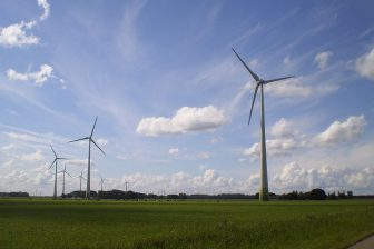 Windpark 'Sternweg in de gemeente Zeewolde, bron: Wikimedia Commons