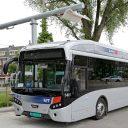 Proefrit elektrische bus in Rotterdam